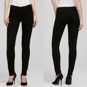 Citizens of Humanity Avedon Skinny Black Jeans NWT
